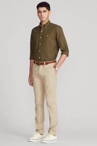 POLO Ralph Lauren regular fit overhemd kaki, Kaki