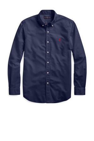 +size regular fit overhemd Plus Size donkerblauw