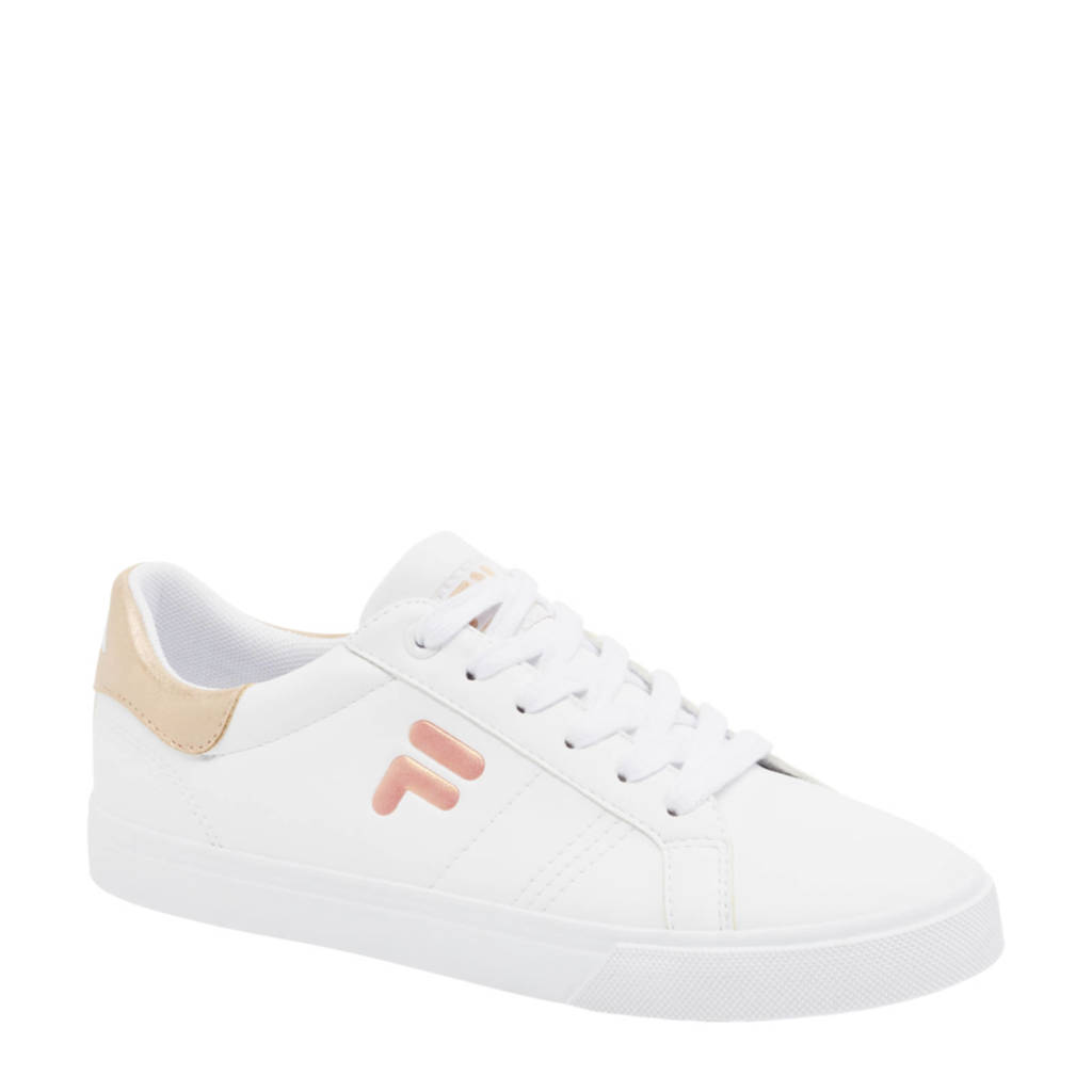 Fila   sneakers wit/rosé, Goud/wit