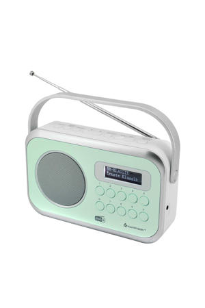 Dab 270 draagbare radio (groen)
