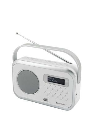 Dab 270 draagbare radio (wit)