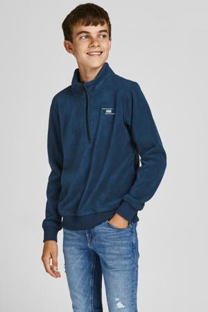 sweater JCOCLASSIC donkerblauw