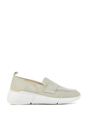 5611026  suède loafers beige