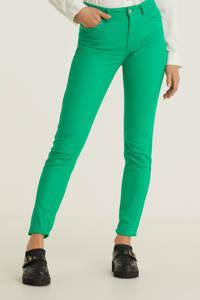 anytime mid rise jeans groen, Groen