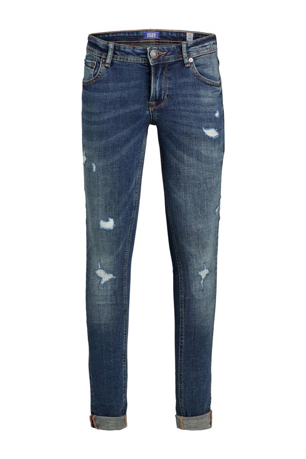 JACK & JONES JUNIOR super skinny jeans JJIDAN stonewashed, Stonewashed