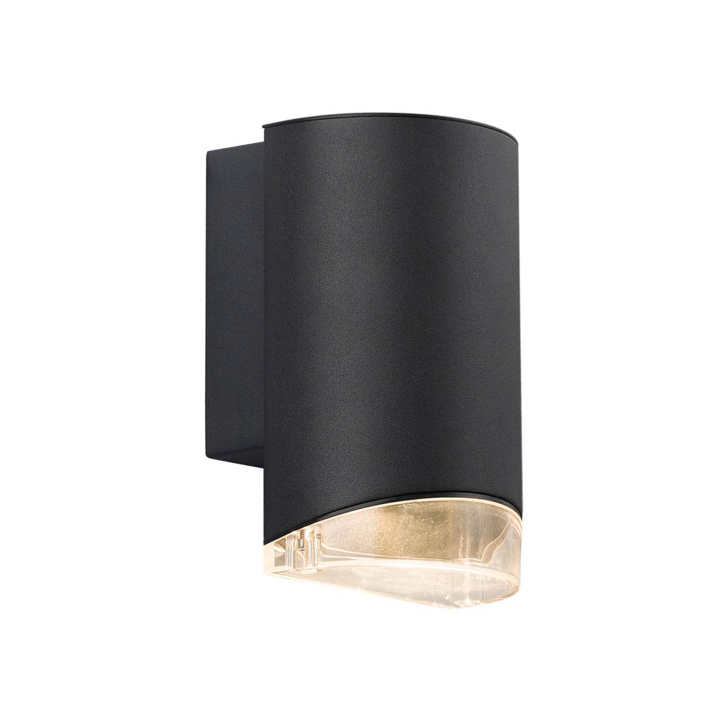 Nordlux wandlamp Arn Down, Zwart