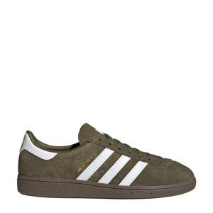 München  sneakers olijfgroen/wit/goud