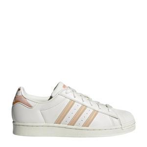 Superstar  sneakers wit/ecru/lichtoranje