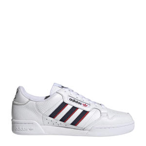 Continental 80 Stripes sneakers wit/donkerblauw/rood