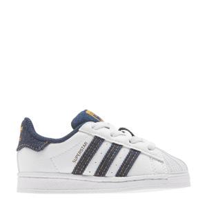 Superstar  sneakers wit/denim