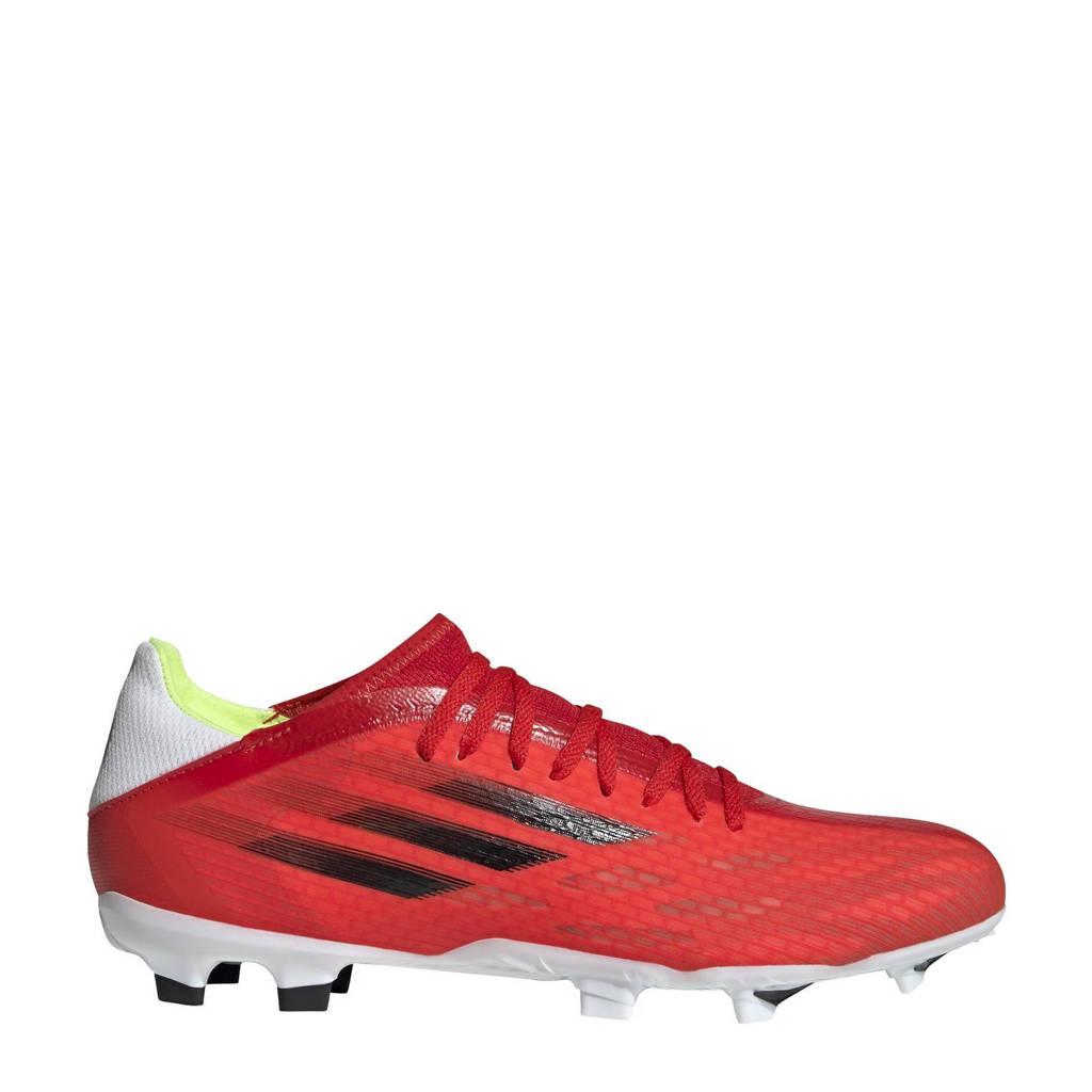 adidas Performance X Speedflow.3 voetbalschoenen rood/zwart/rood