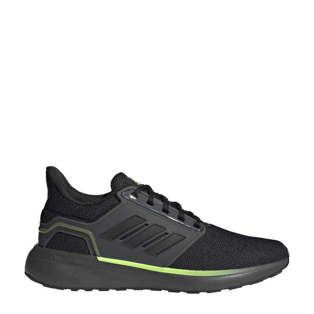adidas Performance EQ19 Run Winter hardloopschoenen  antraciet/zwart/signal groen