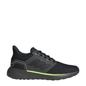 EQ19 Run Winter hardloopschoenen  antraciet/zwart/signal groen