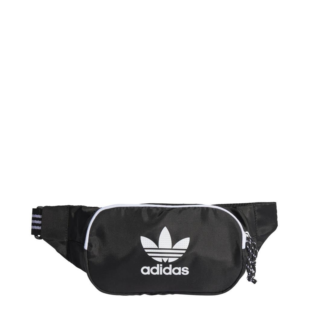 adidas Originals  Adicolor heuptas zwart/wit, Zwart/wit