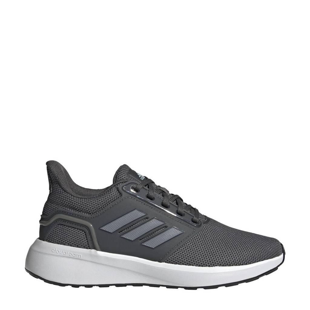 adidas Performance EQ19 Run Winter hardloopschoenen antraciet/grijs metalic/ecru