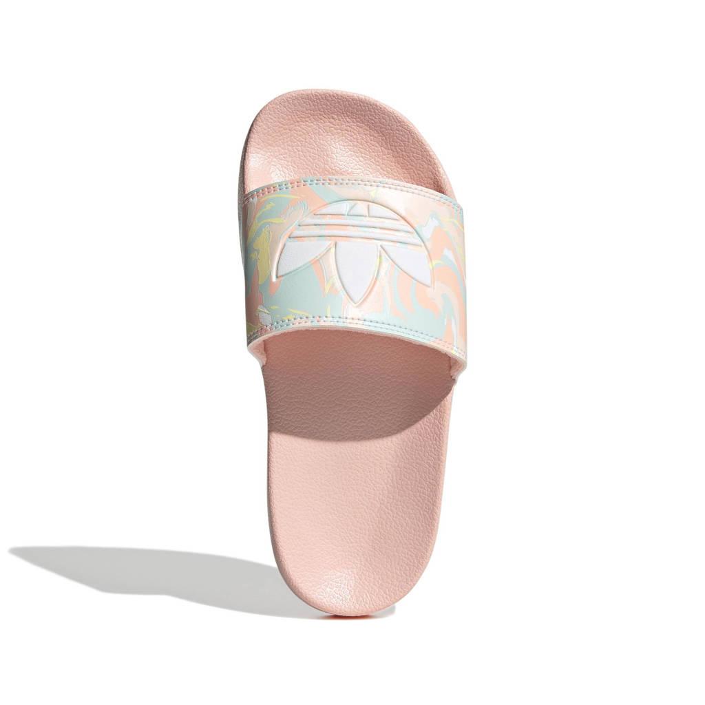 adidas Originals Adilette Lite slippers roze/wit, lichtroze/wit/lichtroze