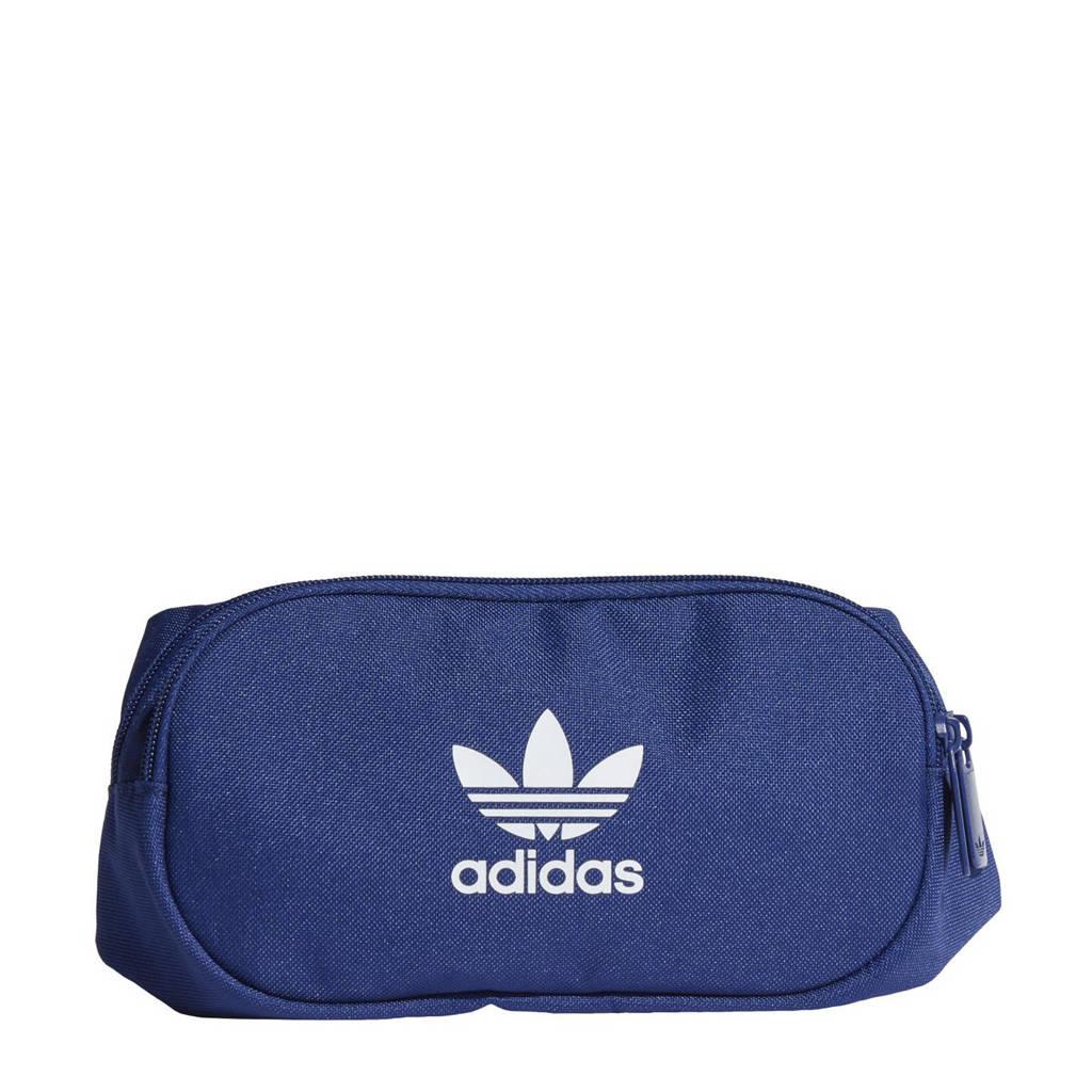 adidas Originals  Adicolor heuptas blauw/wit, Blauw/wit