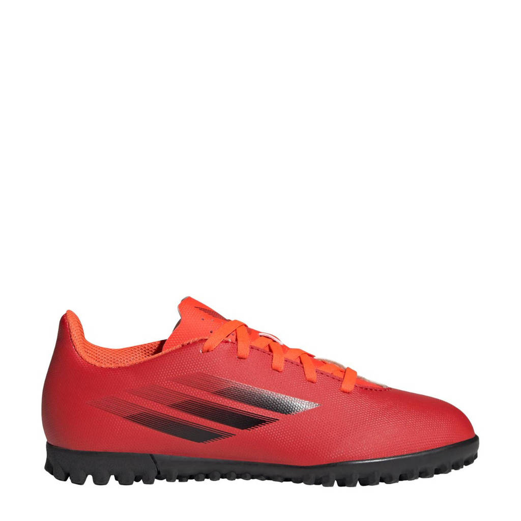 adidas Performance X Speedflow.4 voetbalschoenen rood/zwart/rood