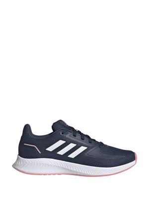 Runfalcon 2.0 Classic sneakers blauw/wit/roze kids