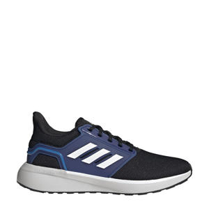 EQ19 Run Winter hardloopschoenen zwart/wit/blauw