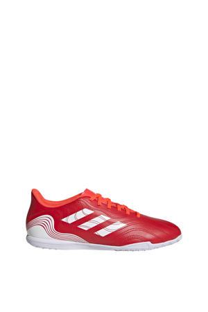 Copa Sense.4 zaalvoetbalschoenen rood/wit