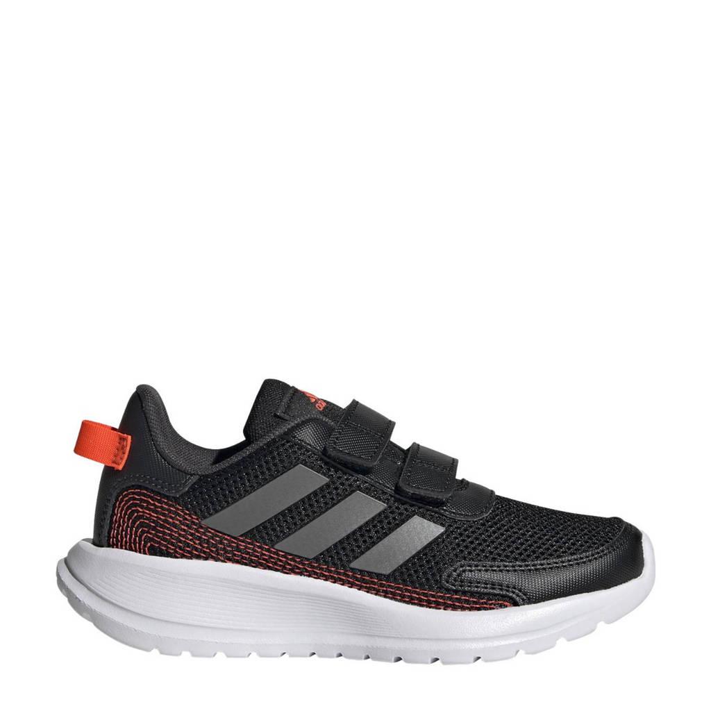 adidas Performance Tensaur Run C sportschoenen zwart/grijs metalic/antraciet kids