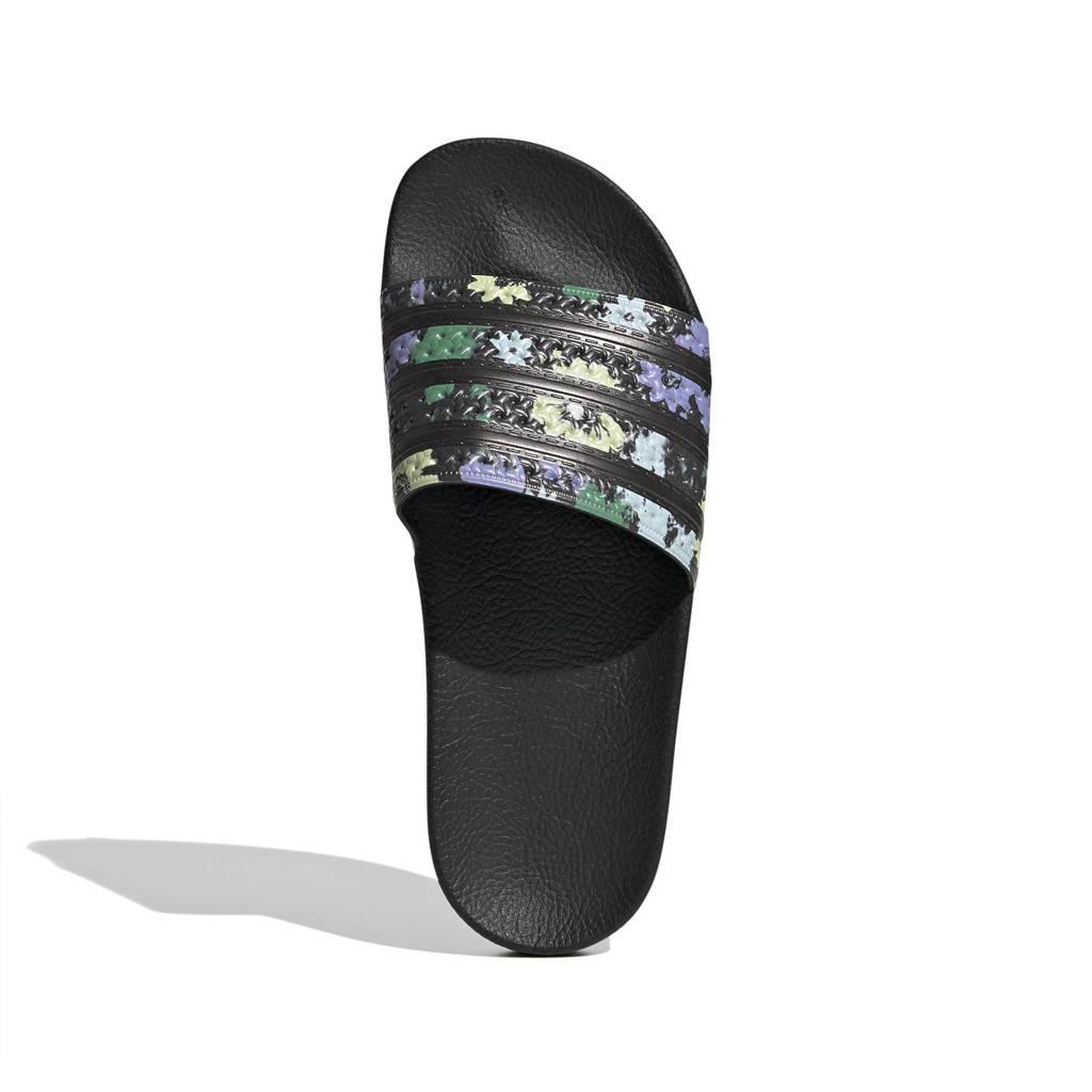 adidas Originals Adilette  badslippers zwart, Zwart