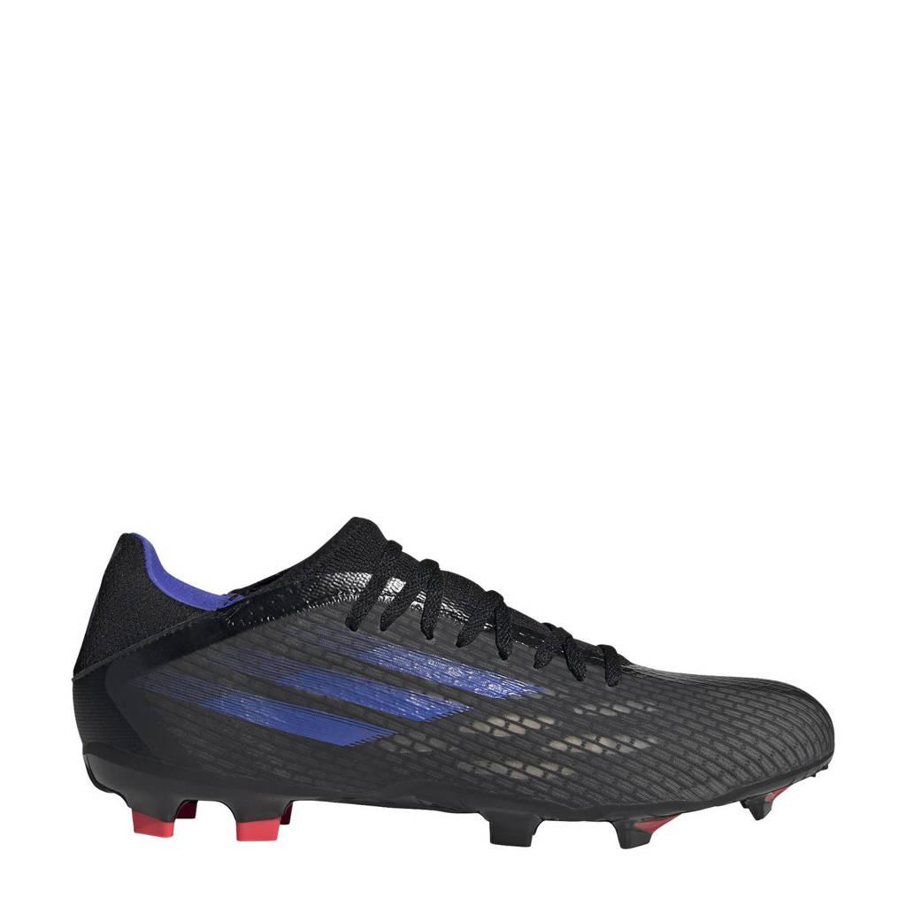 adidas Performance X Speedflow.3 voetbalschoenen zwart/blauw/geel, Zwart/blauw/geel
