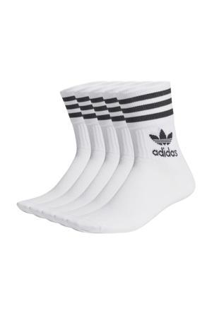 Adicolor sokken - set van 5 wit