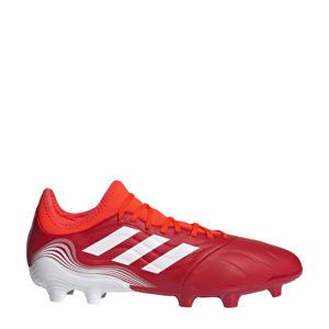 Copa Sense.3 FG voetbalschoenen rood/wit