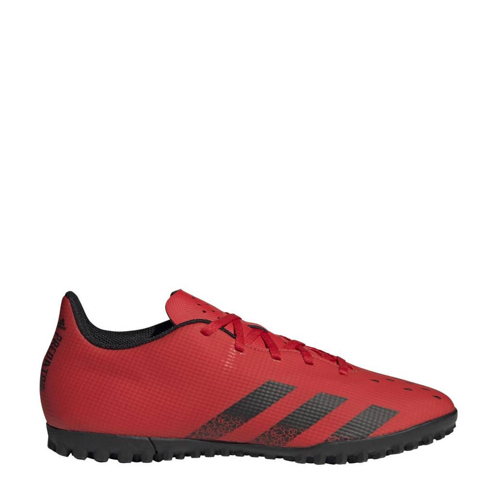 adidas Performance Predator Freak.4 voetbalschoenen zwart/rood, Rood/zwart