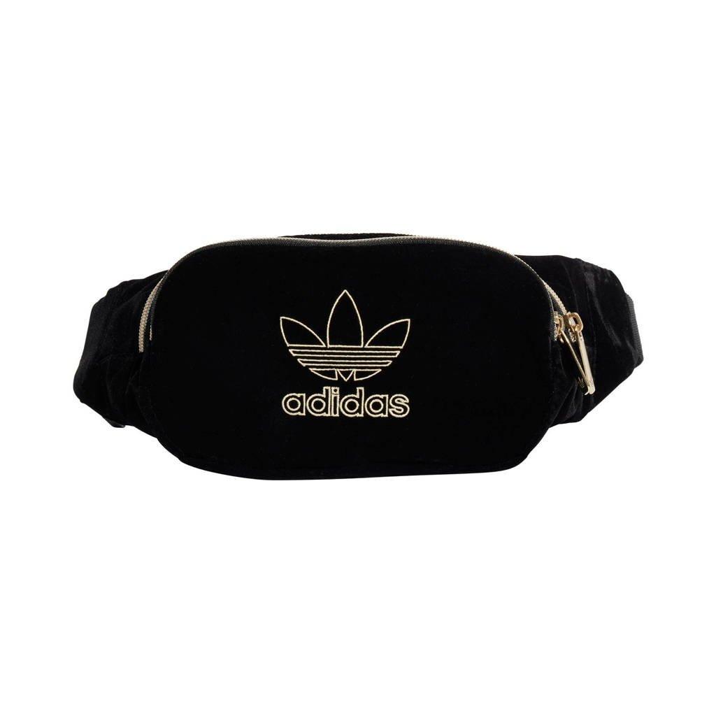 adidas Originals  Adicolor heuptas zwart/goud, Zwart/goud