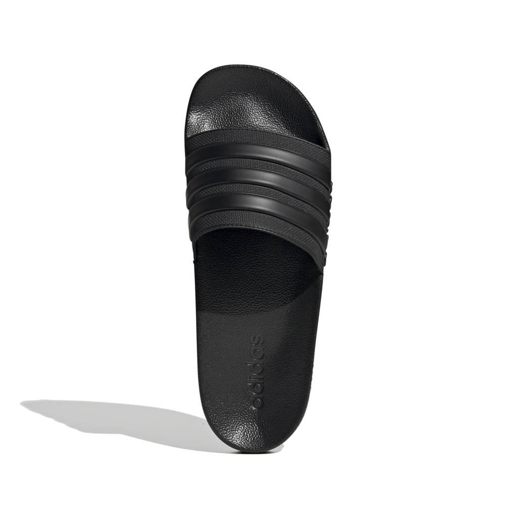 adidas Performance Adilette Shower badslippers zwart, Zwart