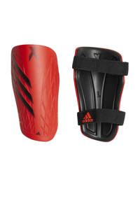 adidas Performance Senior  X Training scheenbeschermers rood/wit/geel/zwart