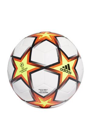 Champions League Finale voetbal wit/rood/geel/zwart maat 3