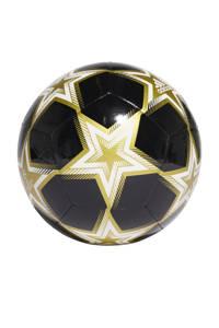 adidas Performance Senior  Matchbal Champions league voetbal zwart/lgoud maat 5, Zwart/goud/wit