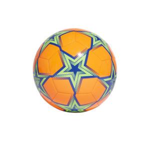Senior  Champions League Finale voetbal oranje/kobaltblauw/groen maat 5