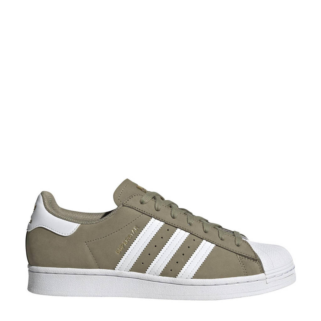 adidas Originals Superstar  sneakers kaki/wit/goud, Kaki/wit/goud