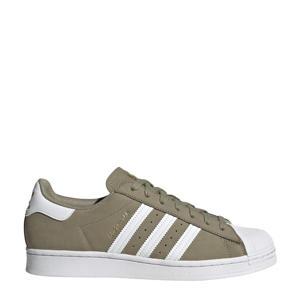 Superstar  sneakers kaki/wit/goud