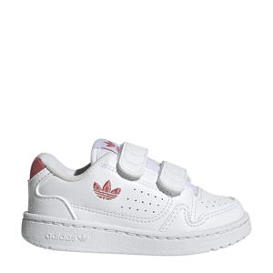 NY 90  sneakers wit/lichtroze