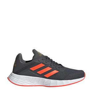 Duramo SL  hardloopschoenen antraciet/rood kids