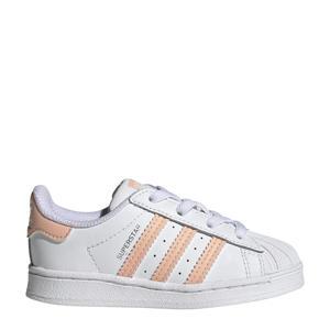 Superstar  sneakers wit/lichtroze