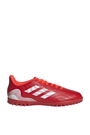 Copa Sense.4 jr. voetbalschoenen rood/wit