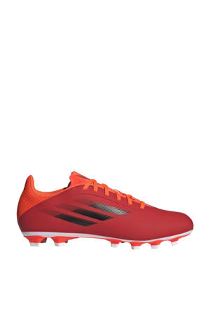X Speedflow.4 Sr. voetbalschoenen rood/zwart/rood