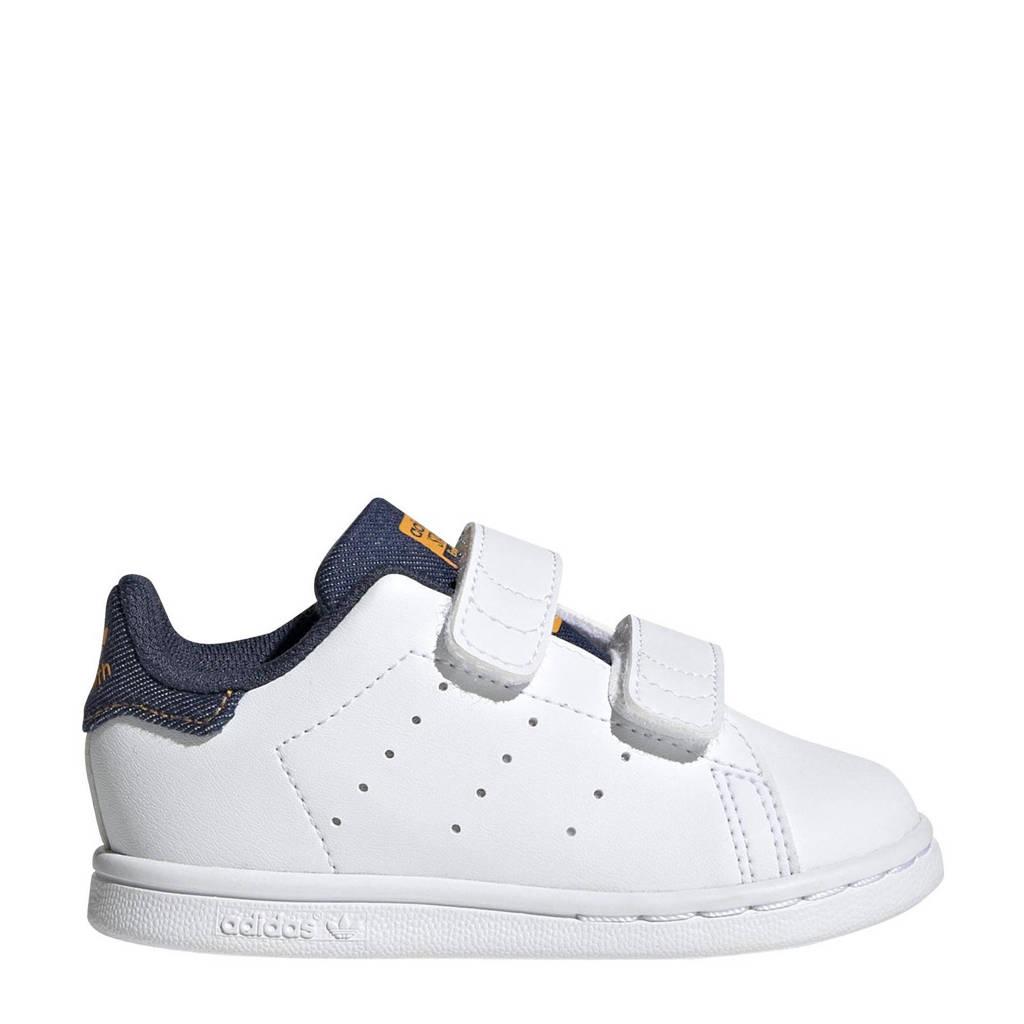 adidas Originals Stan Smith  sneakers wit/denim, Wit/Denim