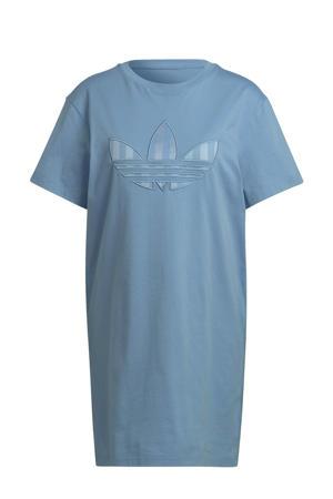 Adicolor jurk lichtblauw