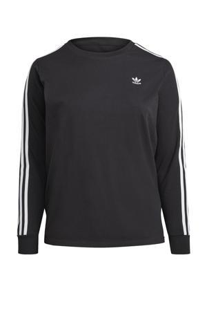 Adicolor Plus Size T-shirt zwart