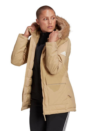 outdoor jas beige