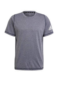 adidas Performance   sport T-shirt donkerblauw/wit, Donkerblauw/wit