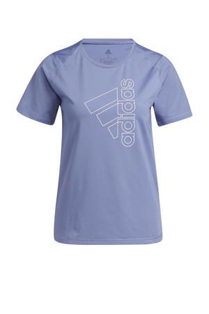 sport T-shirt violet